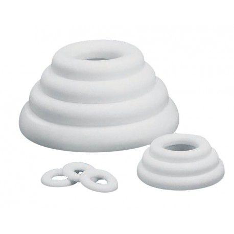 Anneau / Cercle plat en polystyrène Ø 17 cm