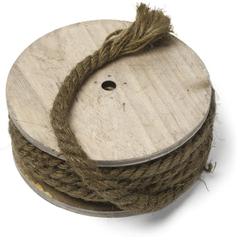 Bobine corde Marine 1 cm x 7 mètres jute naturelle