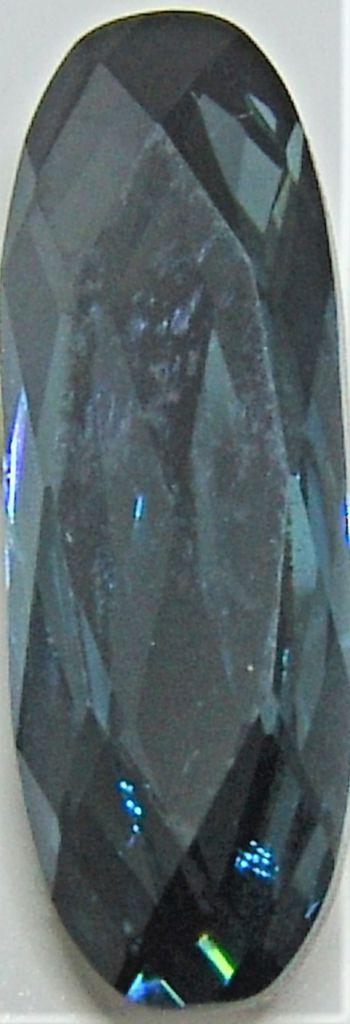 Cabochon 4161 Aquamarine Satin 15x5 mm x1 Swarovski