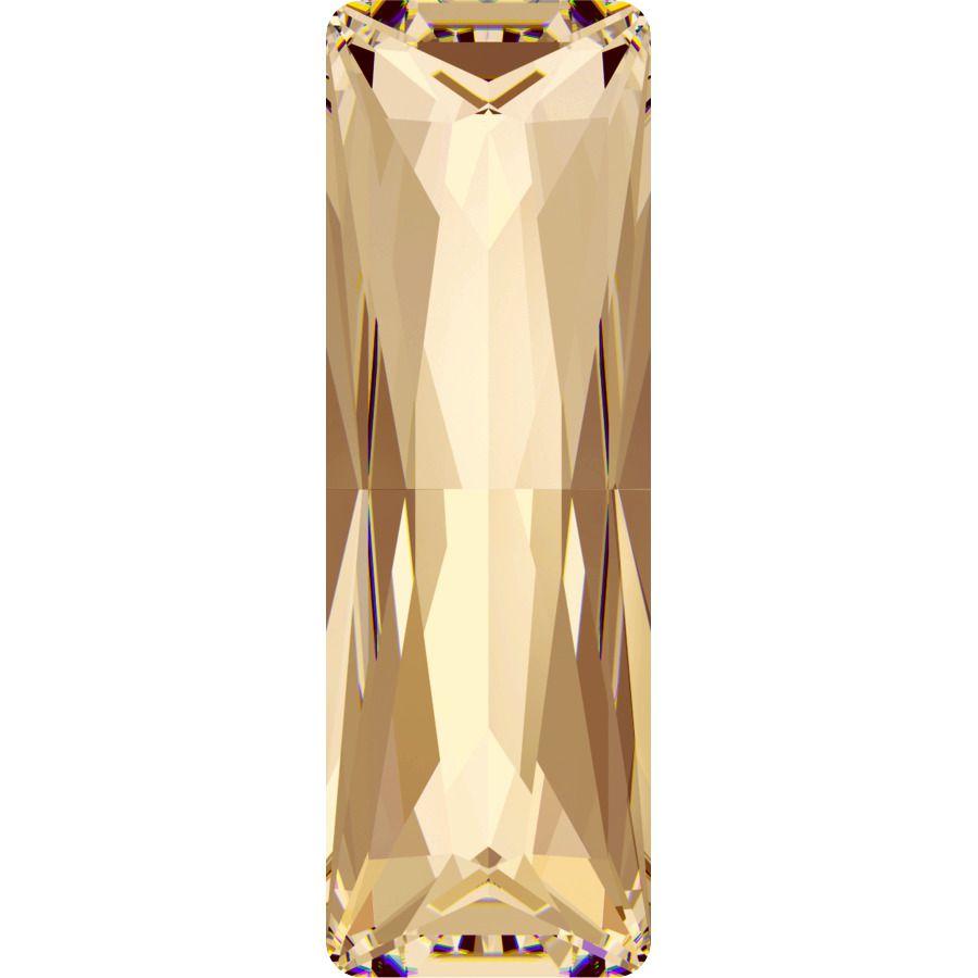 Cabochon 4547 Crystal Golden Shadow 21x7 mm x1 Swarovski