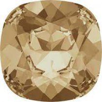 Cabochon Carré 4470 Crystal golden shadow 12mm x1 Cristal Swarovski