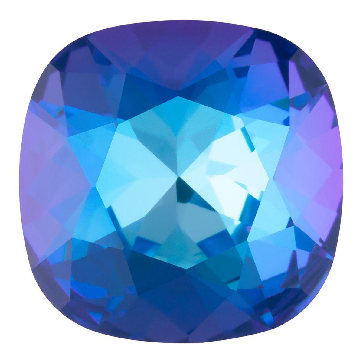 Cabochon Carré 4470 Crystal Royal Blue Delite 12mm x1