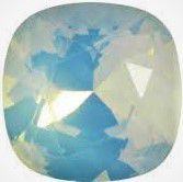 Cabochon Carré 4470 White opal star shine 12mm x1