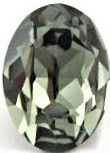 Cabochon Oval 4120 Black Diamond 18x13 mm x1 Swarovski