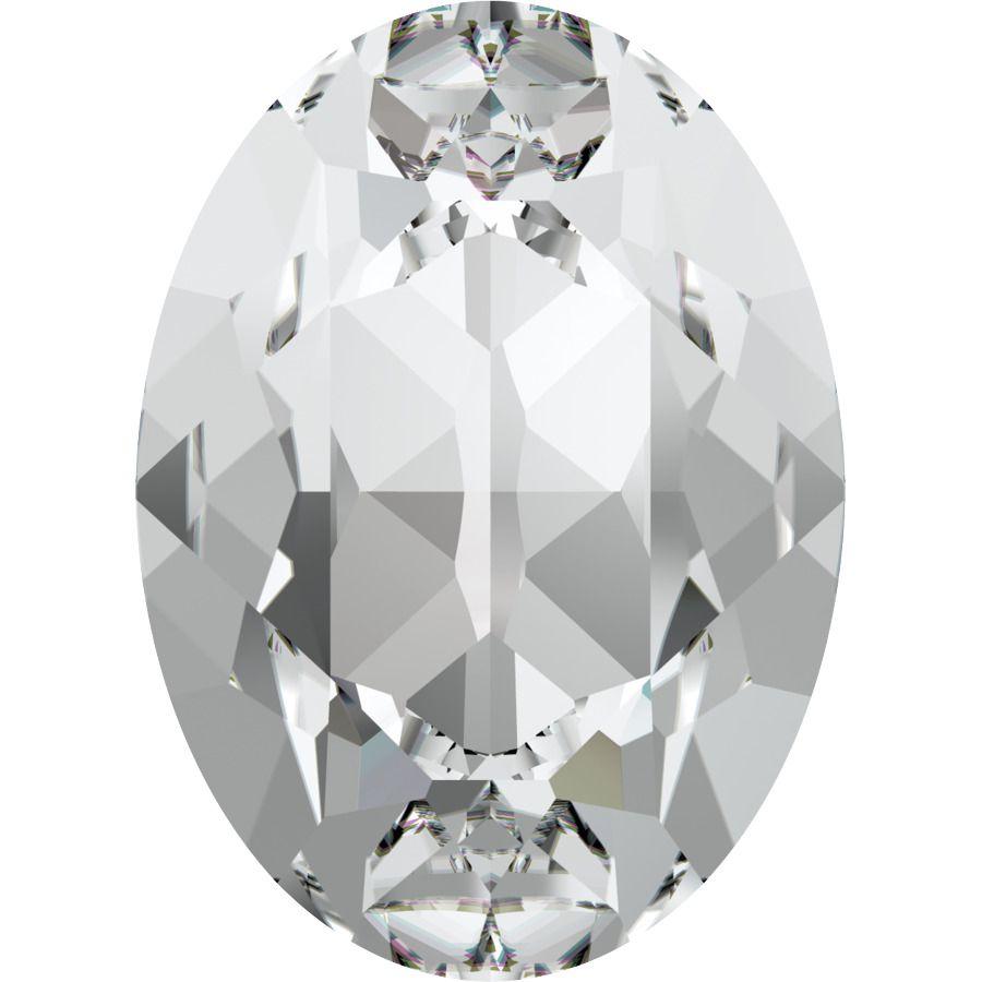 Cabochon Oval 4120 Crystal 8x6 mm x1 Swarovski