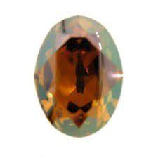 Cabochon Oval 4120 Crystal Copper 18x13 mm x1 Swarovski