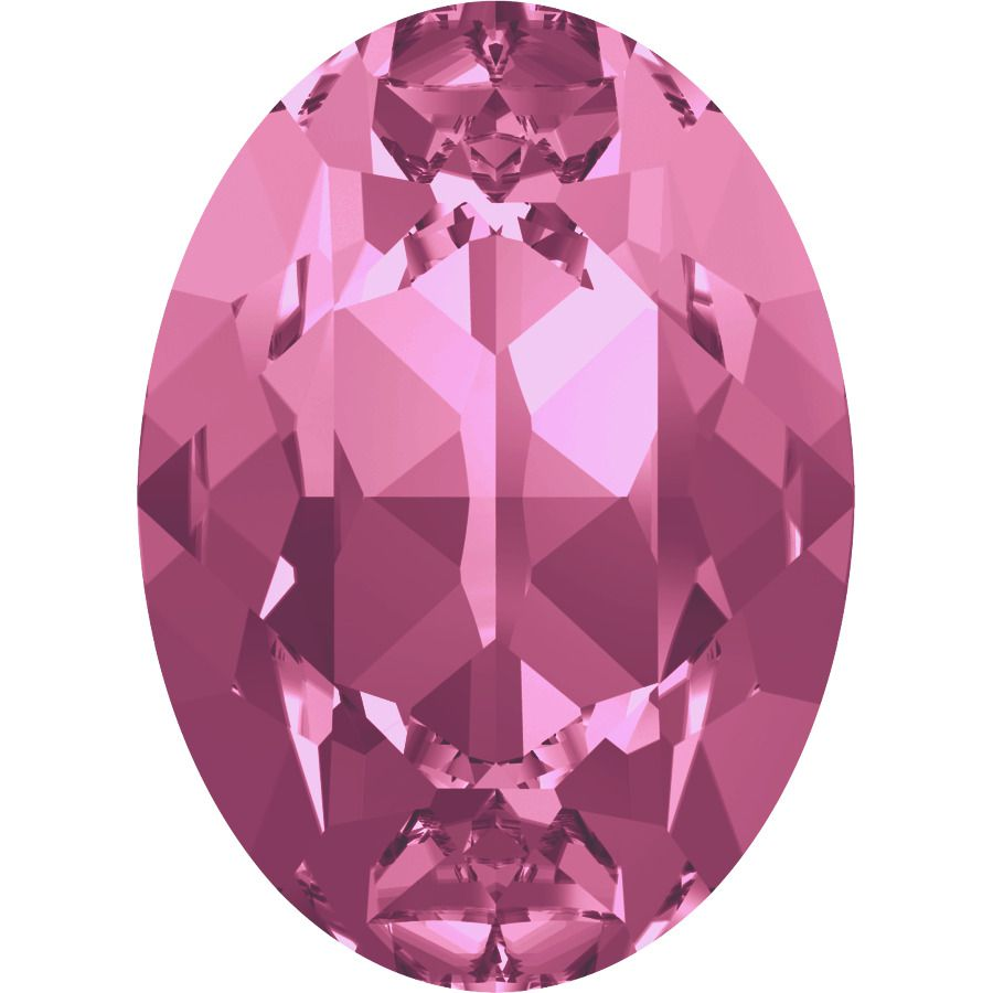 Cabochon Oval 4120 Rose 18x13 mm x1 Swarovski