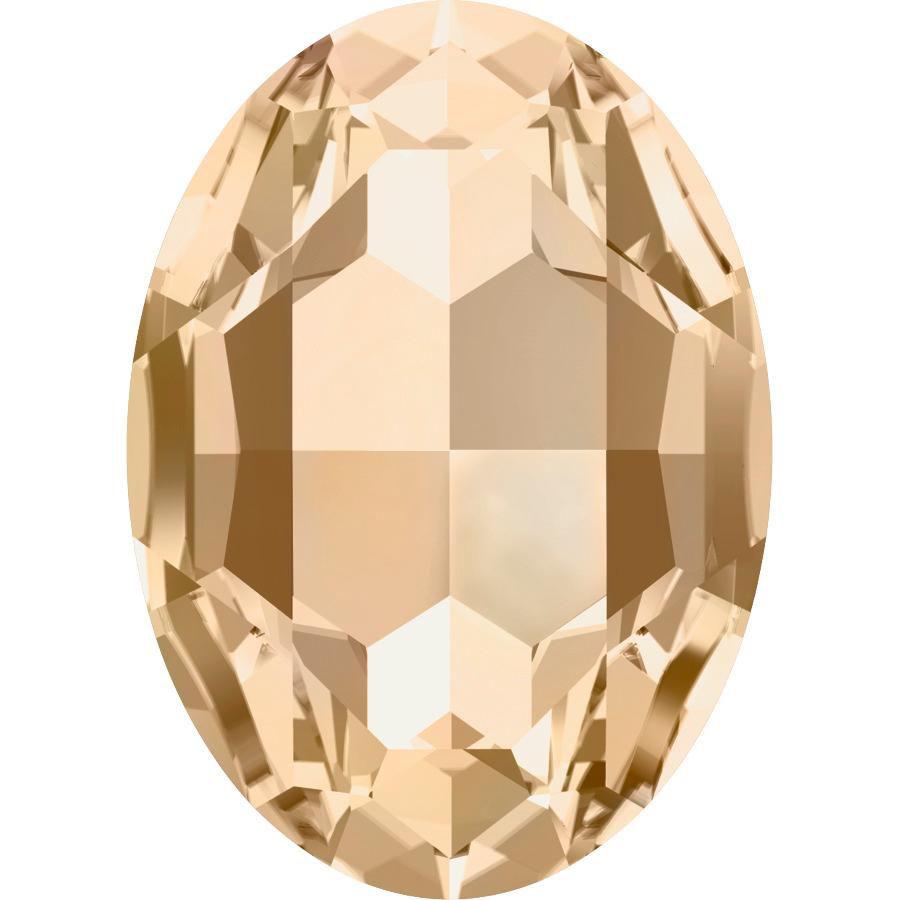 Cabochon Oval 4127 Crystal Golden Shadow 30x22 mm x1 Swarovski