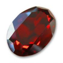 Cabochon Oval 4127 Crystal Red Magma 30x22 mm x1 Swarovski