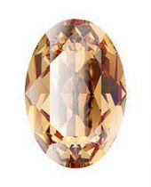 Cabochon Oval 4127 Light Colorado Topaz 30x22 mm x1 Cristal Swarovski