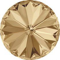 Cabochon Rivoli 1122 Crystal Golden Shadow Vintage 18mm x1 Swarovski