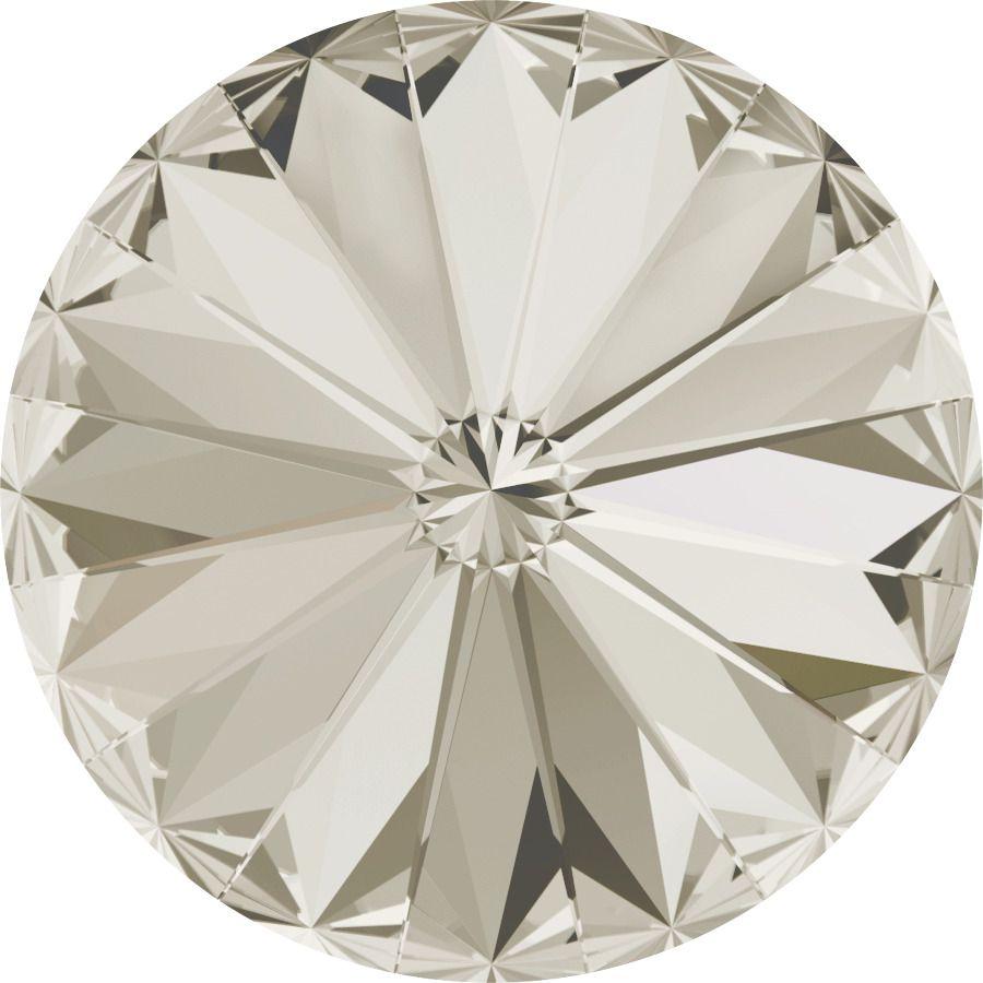 Cabochon Rivoli 1122 Crystal Silver Shade 14mm x1 Swarovski