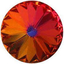 Cabochon Rivoli 1122 Crystal Volcano Vintage 18mm x1 Swarovski