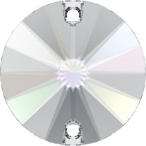 Cabochon rond 3200 Crystal AB 10mm x1 à coudre