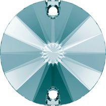 Cabochon rond 3200 Light turquoise 10mm x1 à coudre