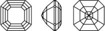 Cabochon Swarovski Imperial 4480 10 mm Crystal Cappuccino Delite x1