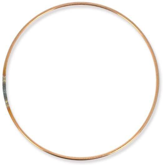 Cercle nu en métal cuivre Ø 30cm