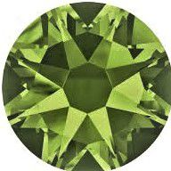Chaton 1028 Olivine 8mm strass xilion X1