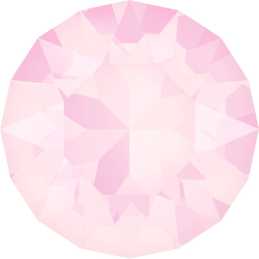 Chaton 1088 Crystal Powder Rose 6mm strass xilion X1