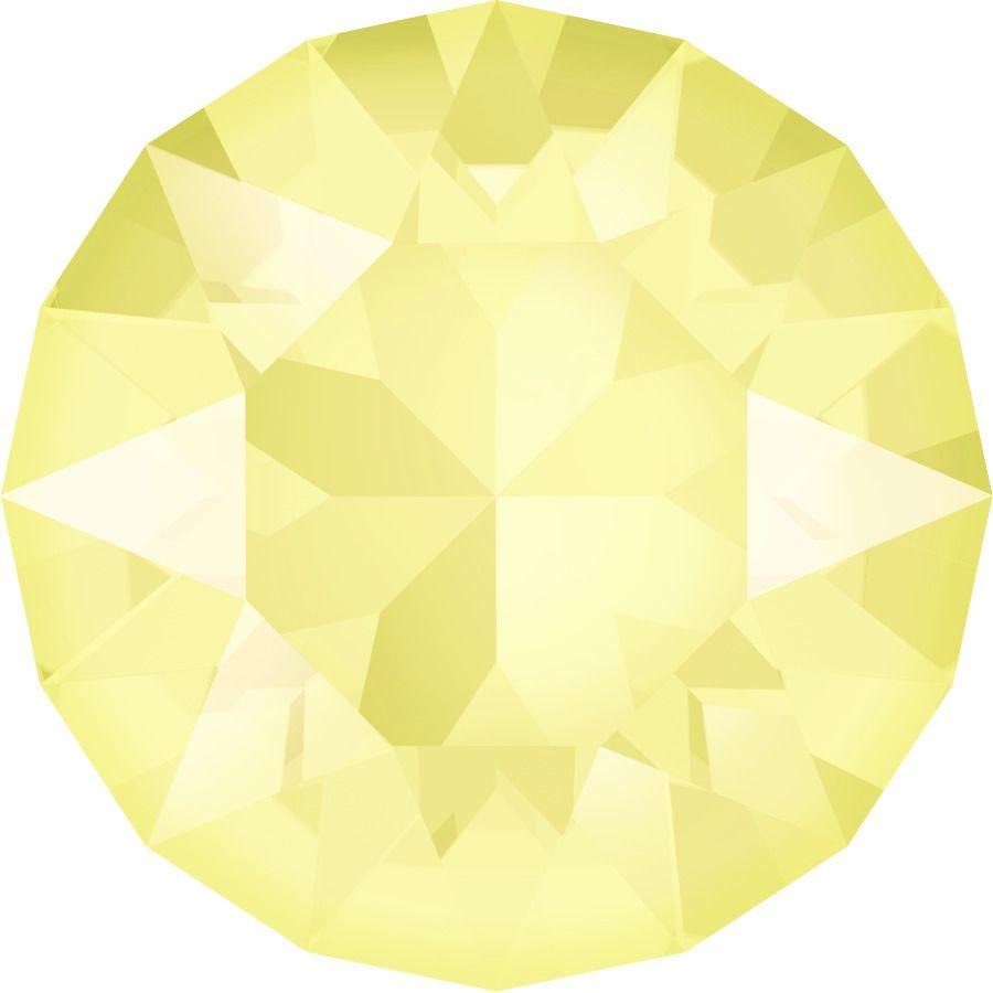 Chaton 1088 Crystal Powder Yellow 8mm strass xilion X1