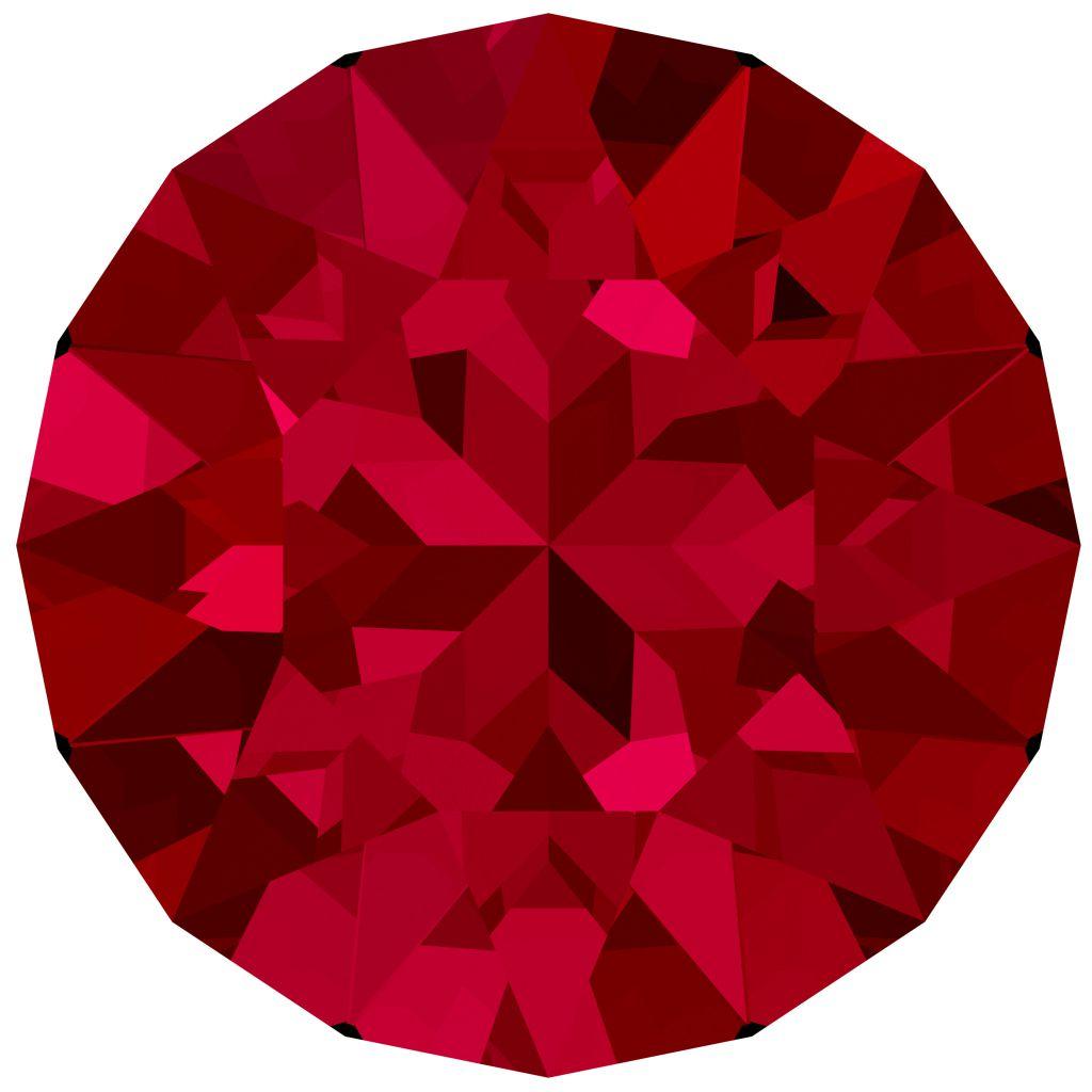 Chaton 1088 Crystal Scarlet  8mm strass xilion X1
