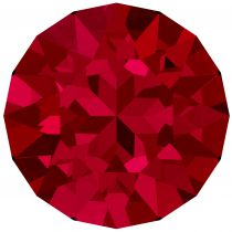 Chaton 1088 Crystal Scarlet 6mm strass xilion X1