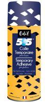 Colle 505 aérosol temporaire pour tissus et papiers