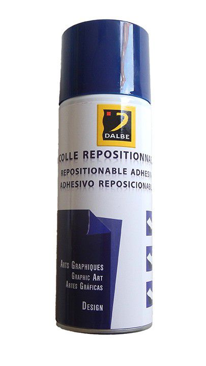 Colle repositionnable adhésive Dalbe 400ml