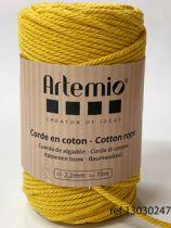 Corde en coton Moutarde diam: 2,2mm Artémio