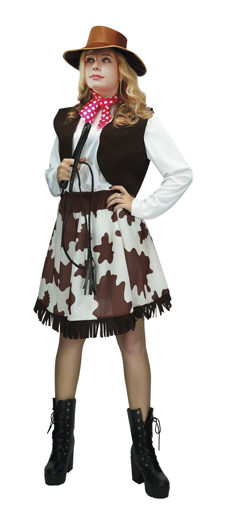 Costume adulte cow girl - L/XL