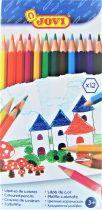 Crayons de couleurs Jovi x12