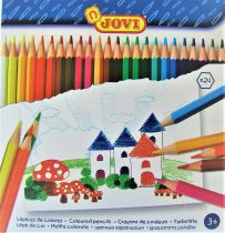 Crayons de couleurs Jovi x24
