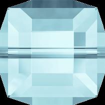 Cubes 5601 Aquamarine 8mm x1 Cristal Swarovski