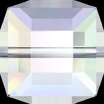 Cubes 5601 Crystal AB 4mm x6 Cristal Swarovski