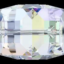 Cubes 5601 Crystal AB 8mm x1 Cristal Swarovski
