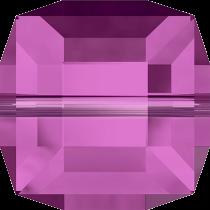 Cubes 5601 Fuchsia 6mm x1 Cristal Swarovski
