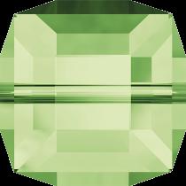 Cubes 5601 Péridot  6mm x1 Cristal Swarovski