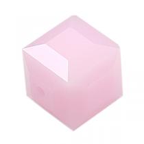 Cubes 5601 Rose Alabaster AB 4mm x6 Cristal Swarovski