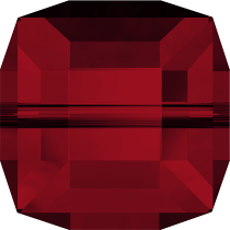 Cubes 5601 Siam 4mm x6 Cristal Swarovski