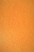 Feutrine 30x20cm orange 2mm