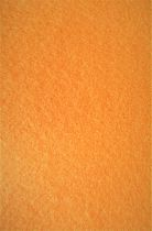 Feutrine 30x20cm orange 2mm