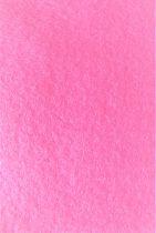 Feutrine 30x20cm rose 2mm