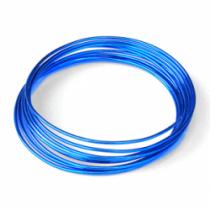 Fil Aluminium Bleu électrique 1mm x 10mètres