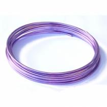 Fil Aluminium Violet 1mm x 10mètres