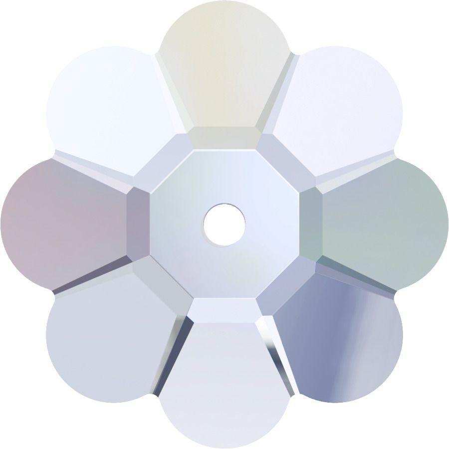 Fleur 3700 Crystal AB 8mm x1 Cristal Swarovski