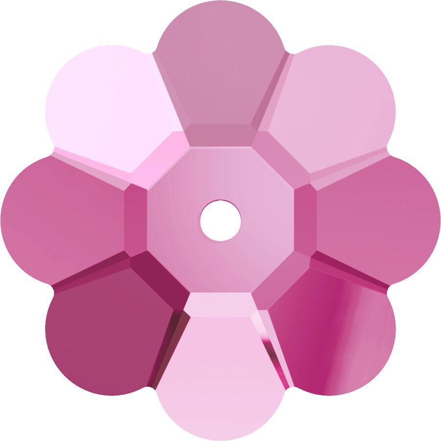 Fleur 3700 Light Rose 6mm x10 Cristal Swarovski