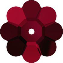 Fleur 3700 Siam 10mm x1 Cristal Swarovski