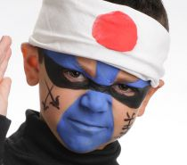 Galet de maquillage bleu vif 20ml sans paraben