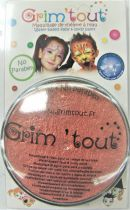 Galet de maquillage cuivre métallique 20ml sans paraben