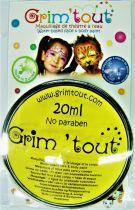 Galet de maquillage jaune citron 20ml sans paraben